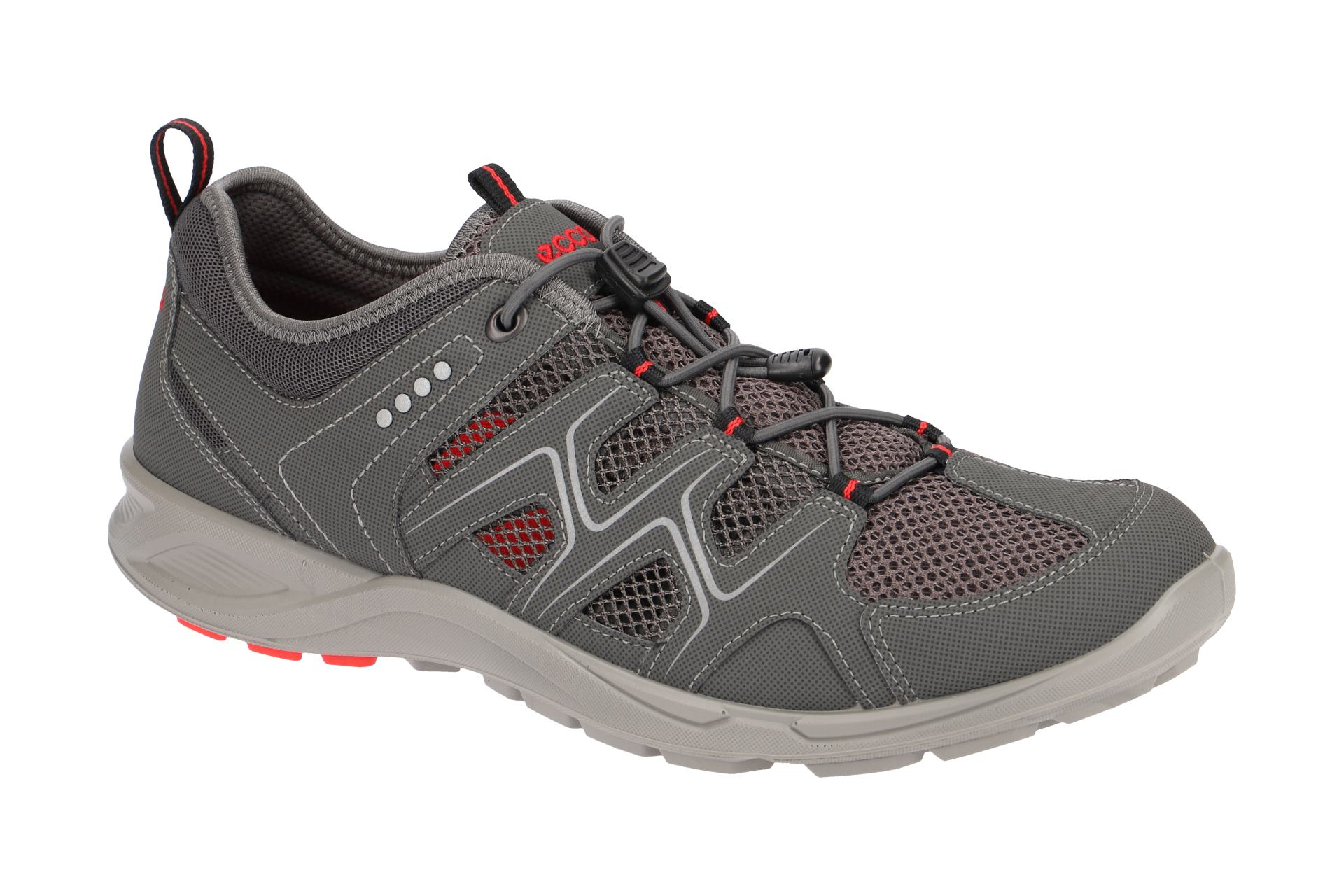 Ecco TerraCruise Schuhe grau braun Sneaker