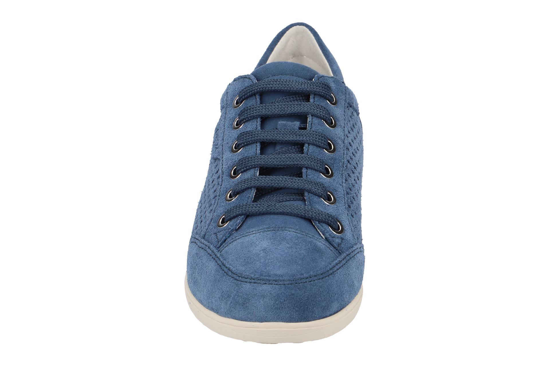 Details Zu Neu Damenschuhe Geox Schuhe D6268b 00022 Blau Halbschuhe C4008 Myria L43cRj5Aq