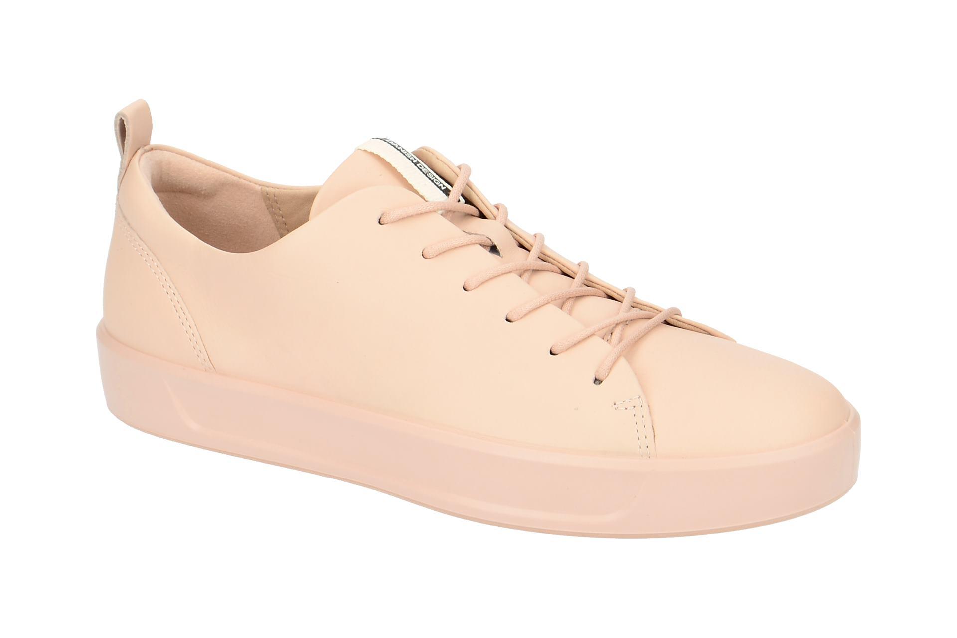 Ecco Soft 8 Sneaker Schuhe rosa WV8pV