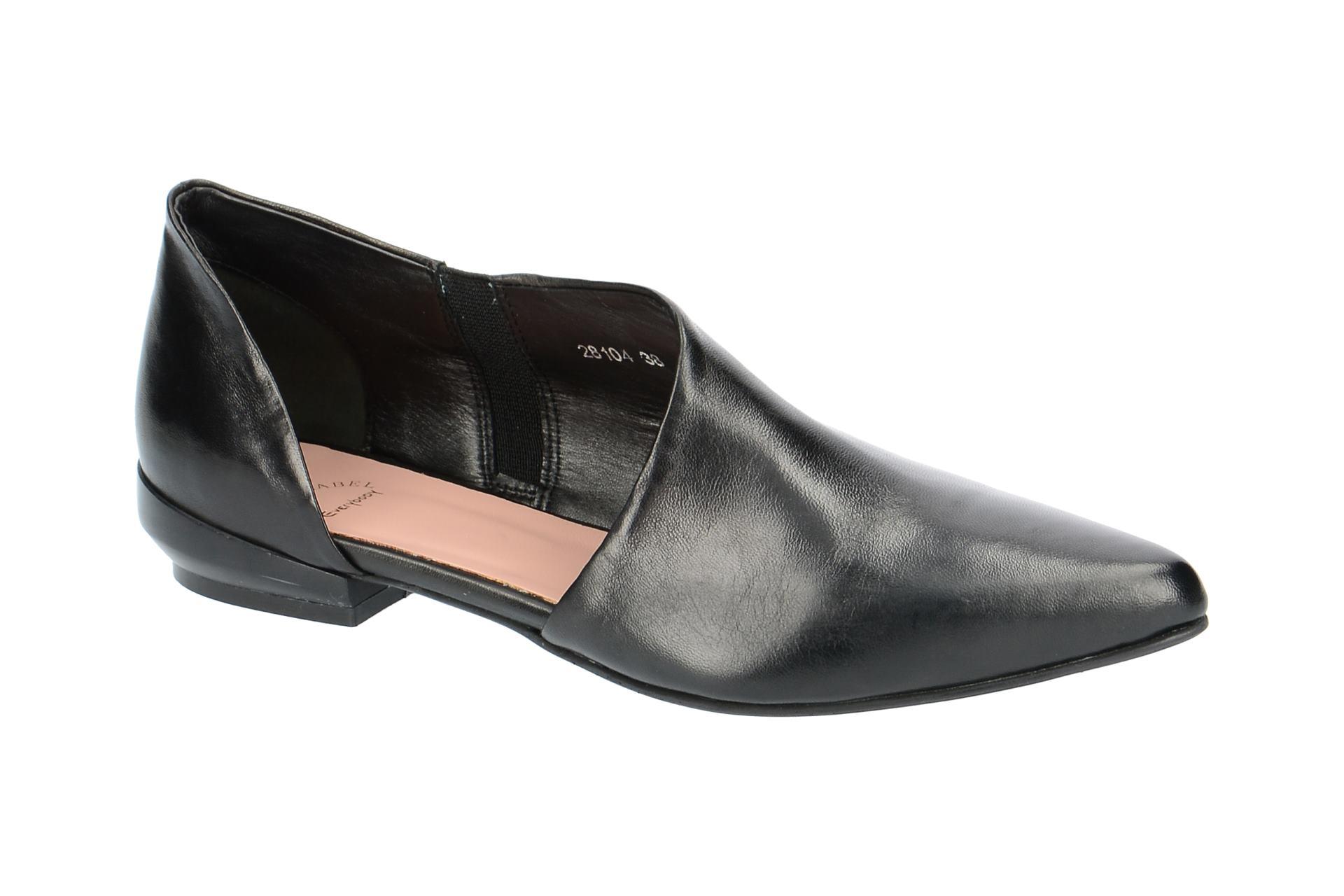 45951f6cf2f913 Everybody Schuhe 28104 schwarz Damenschuhe elegante Slipper ...