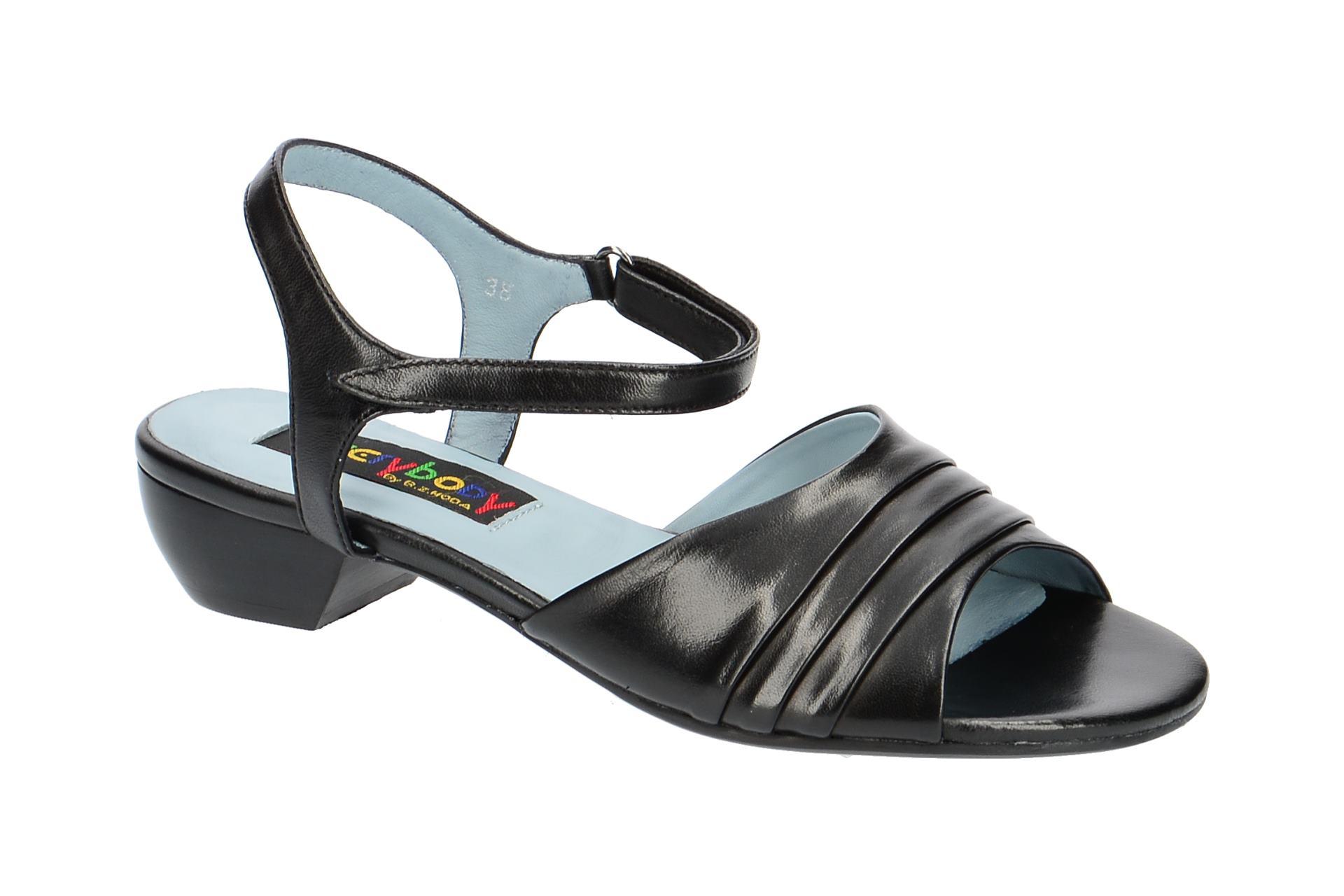 Billige Amazon Everybody 20891 Riemchen Sandale für Damen in schwarz - 20891S4114 nero Billig Verkauf Empfehlen Besuchen Online f8sCT4HyR