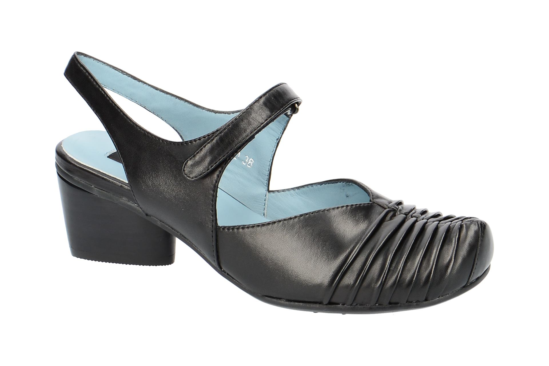 Everybody 28240 Sling Pumps für Damen in schwarz - 28240B5191 nero (Gr. 36, 41, 38.5, 37)