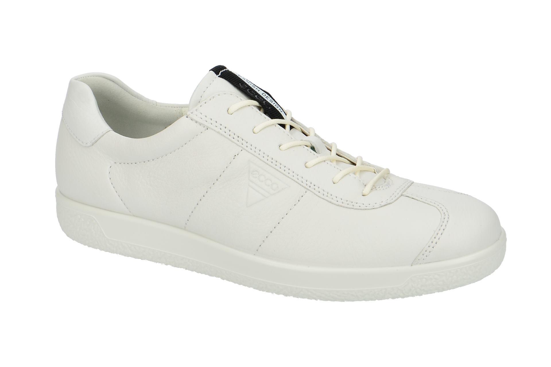 Halbschuhe Weiß Schuhe Schnür Bequeme Men`s 1 Soft Ecco Herrenschuhe pBq8x4g