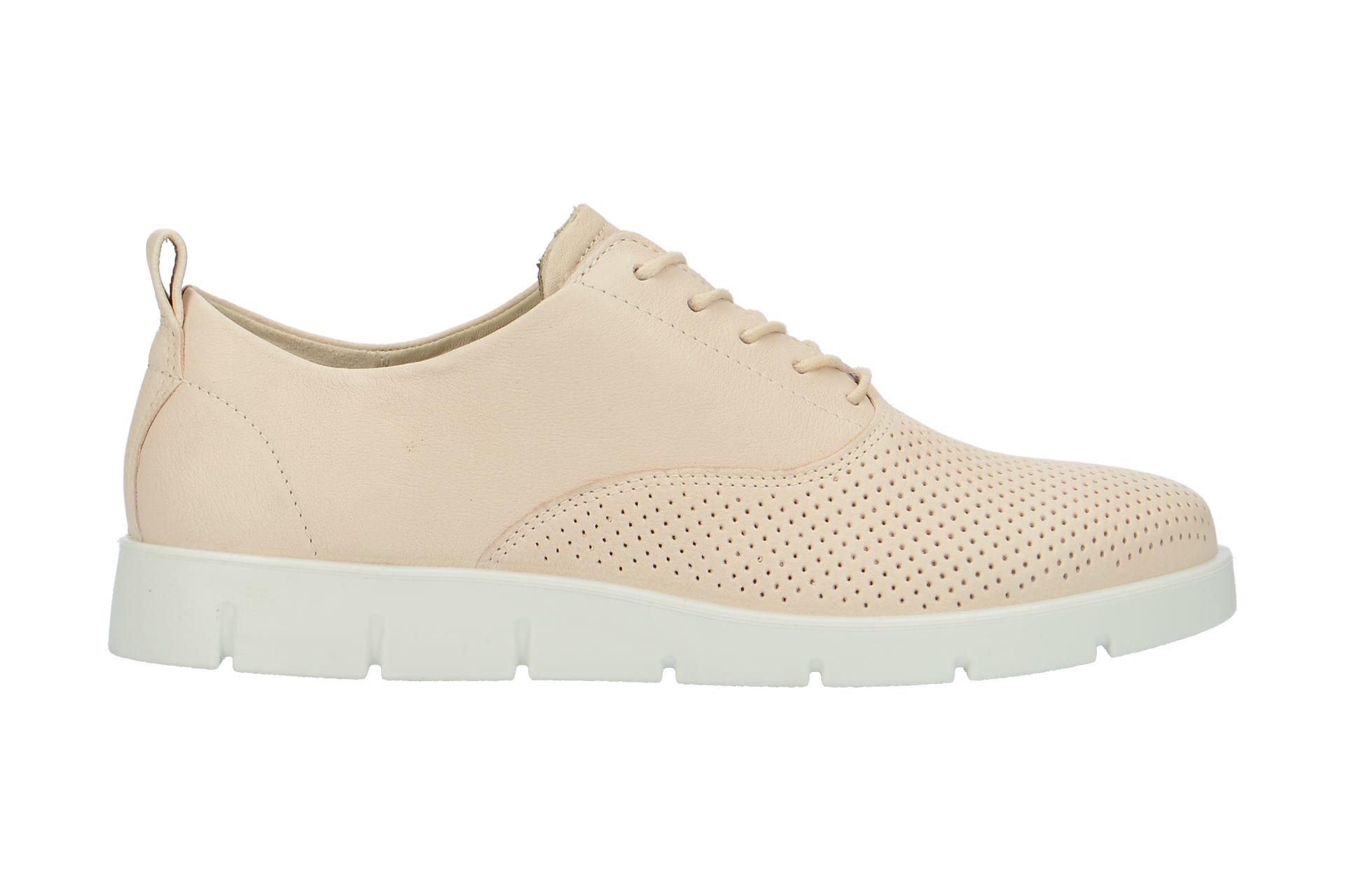 f1fd5c56e98d90 Ecco Schuhe BELLA beige Damenschuhe bequeme Schnür-Halbschuhe 28215301281  NEU