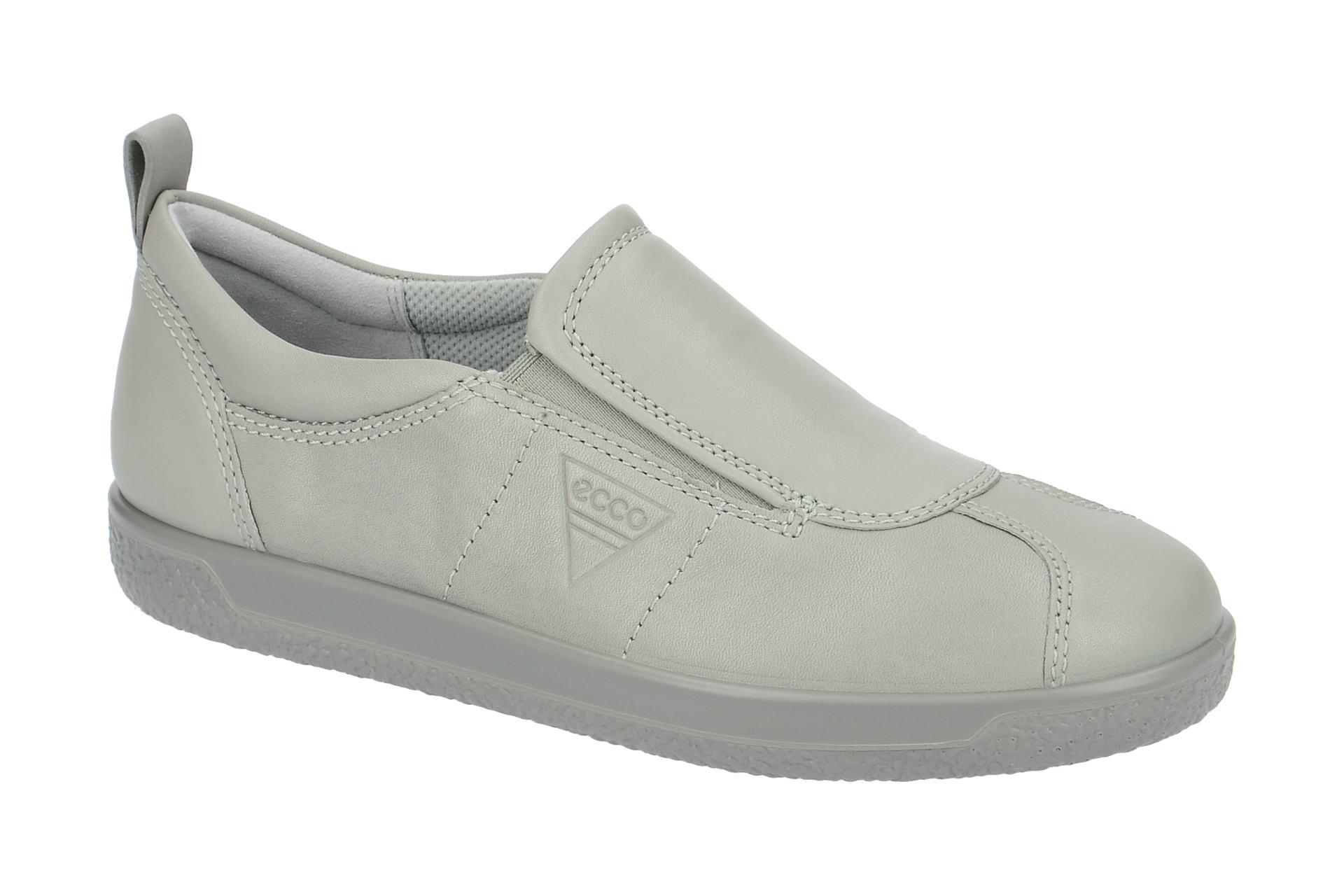 dee45bdb890c60 Ecco Schuhe SOFT 1 LADIES grau Damenschuhe bequeme Slipper 40054301539 NEU