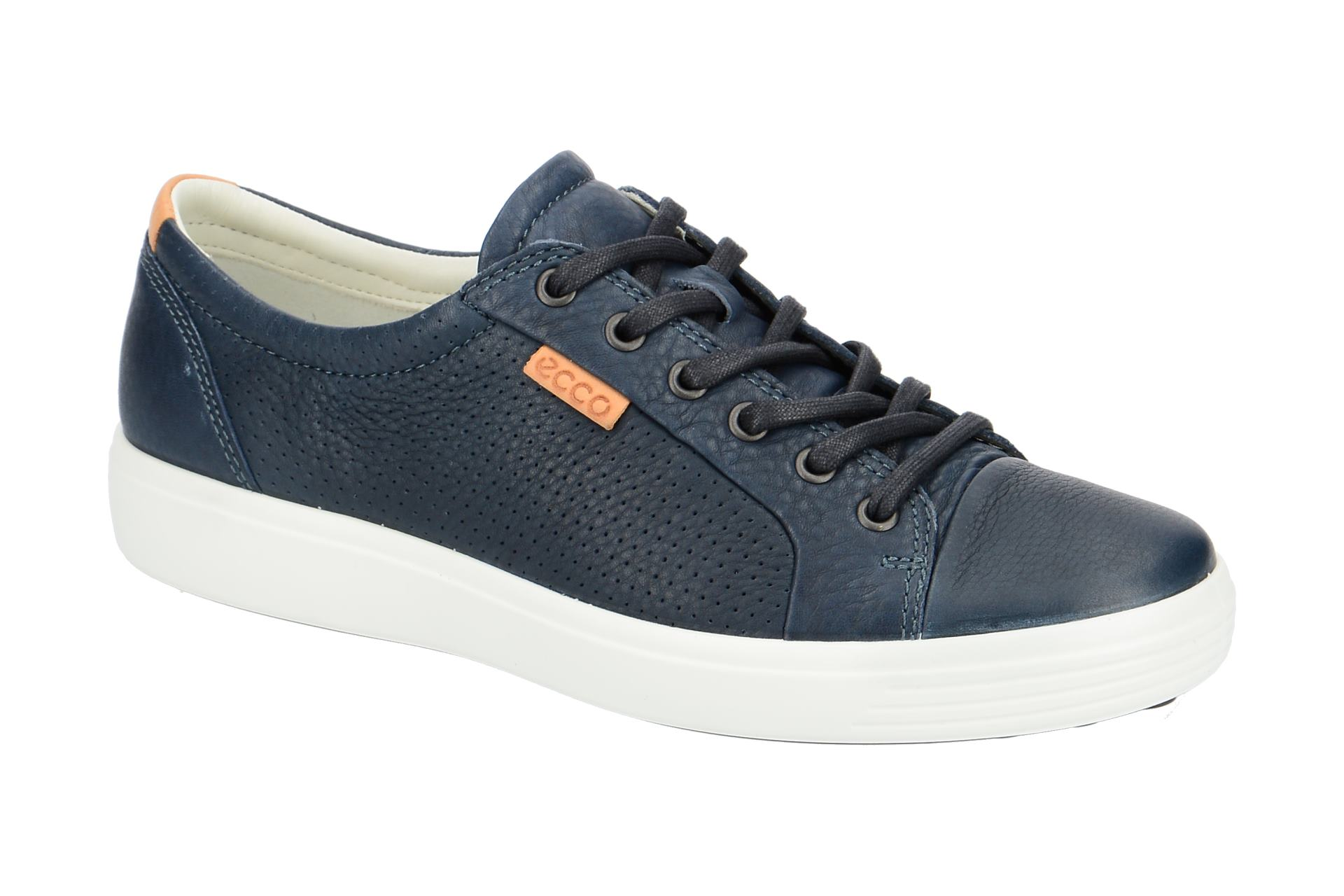adabfa17904ae0 Ecco Schuhe Sneaker Soft 7 blau weiß - Schuhhaus Strauch Shop
