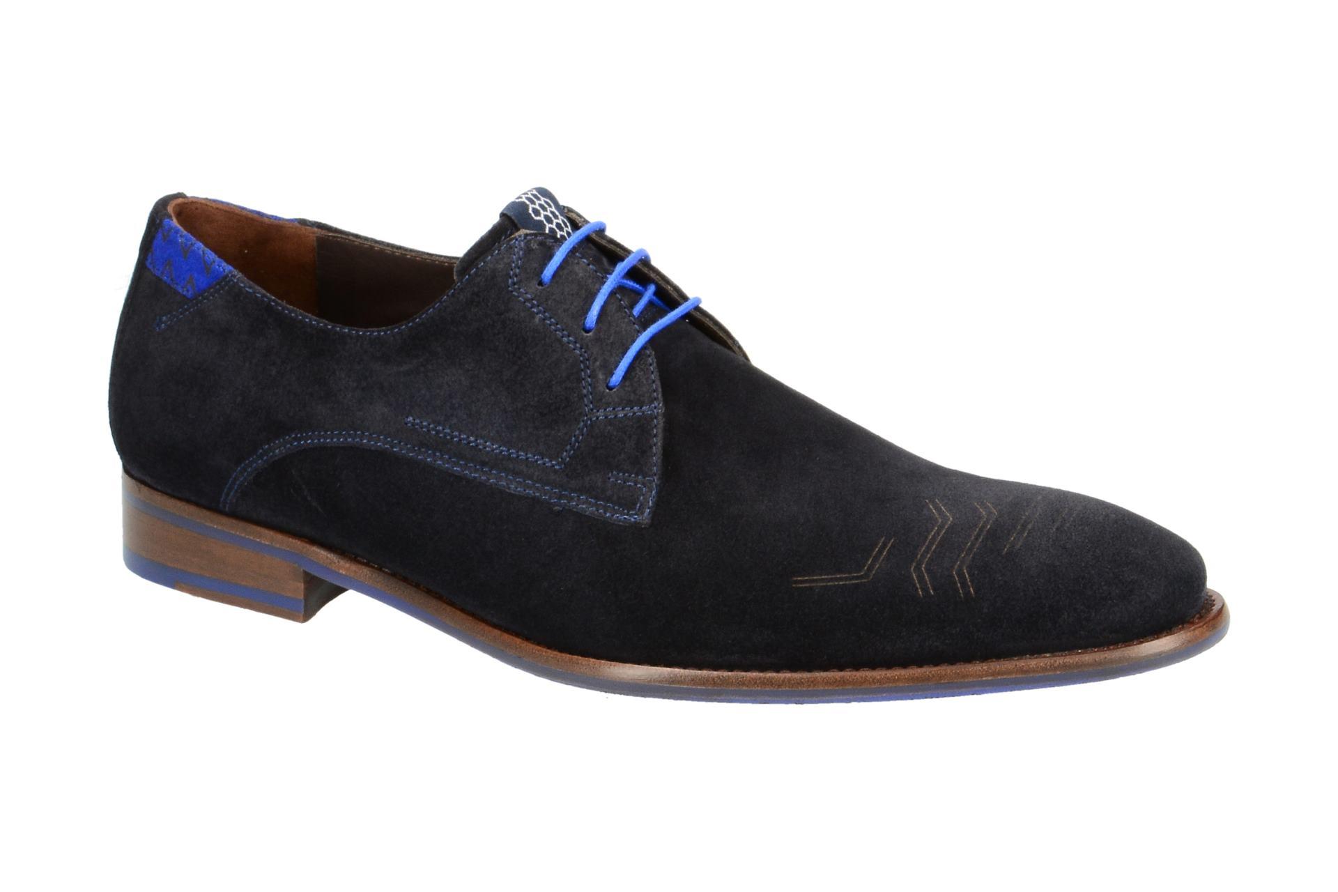 c482c205a29590 Floris van Bommel Schuhe blau 14092 - Schuhhaus Strauch Shop