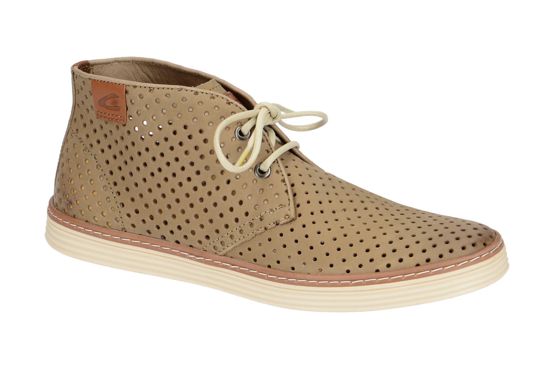 more photos d0aab d96c0 Details zu camel active Schuhe COPA beige Herrenschuhe Mid cut Sneaker  376.31.01 NEU