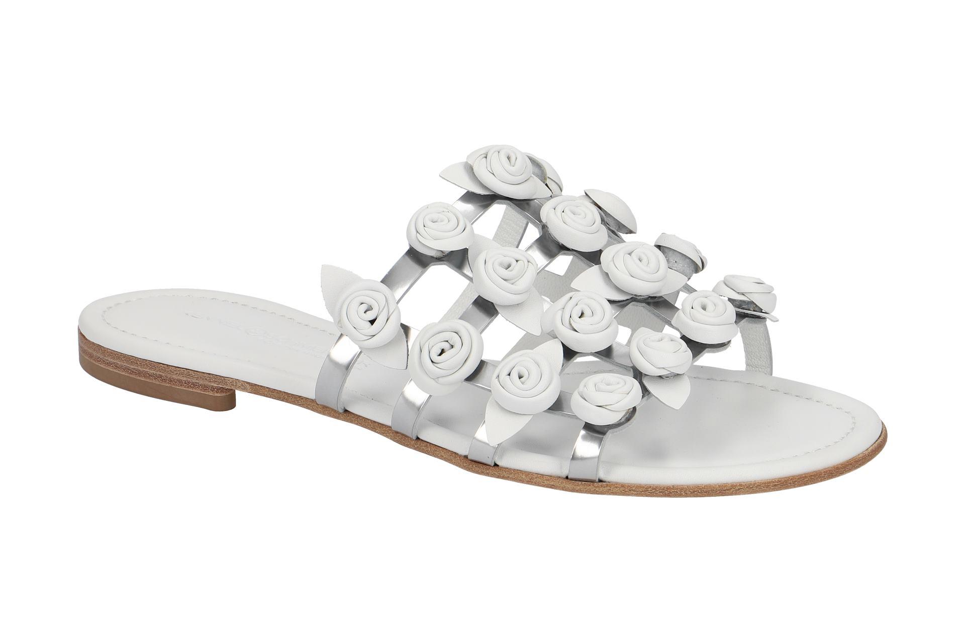 K&S Elle Pantolette grau metallic Freies Verschiffen 100% Original Erschwinglicher Günstiger Preis Bulk-Design Outlet Kollektionen gqQtpr6djT