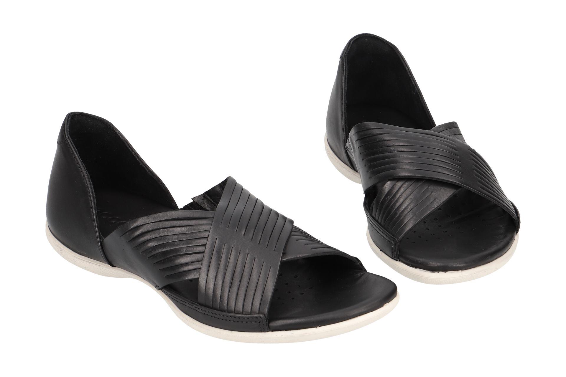 c3d8407852bbb2 Ecco FLASH Sandalette für Damen in schwarz 24390302001 Billig ...