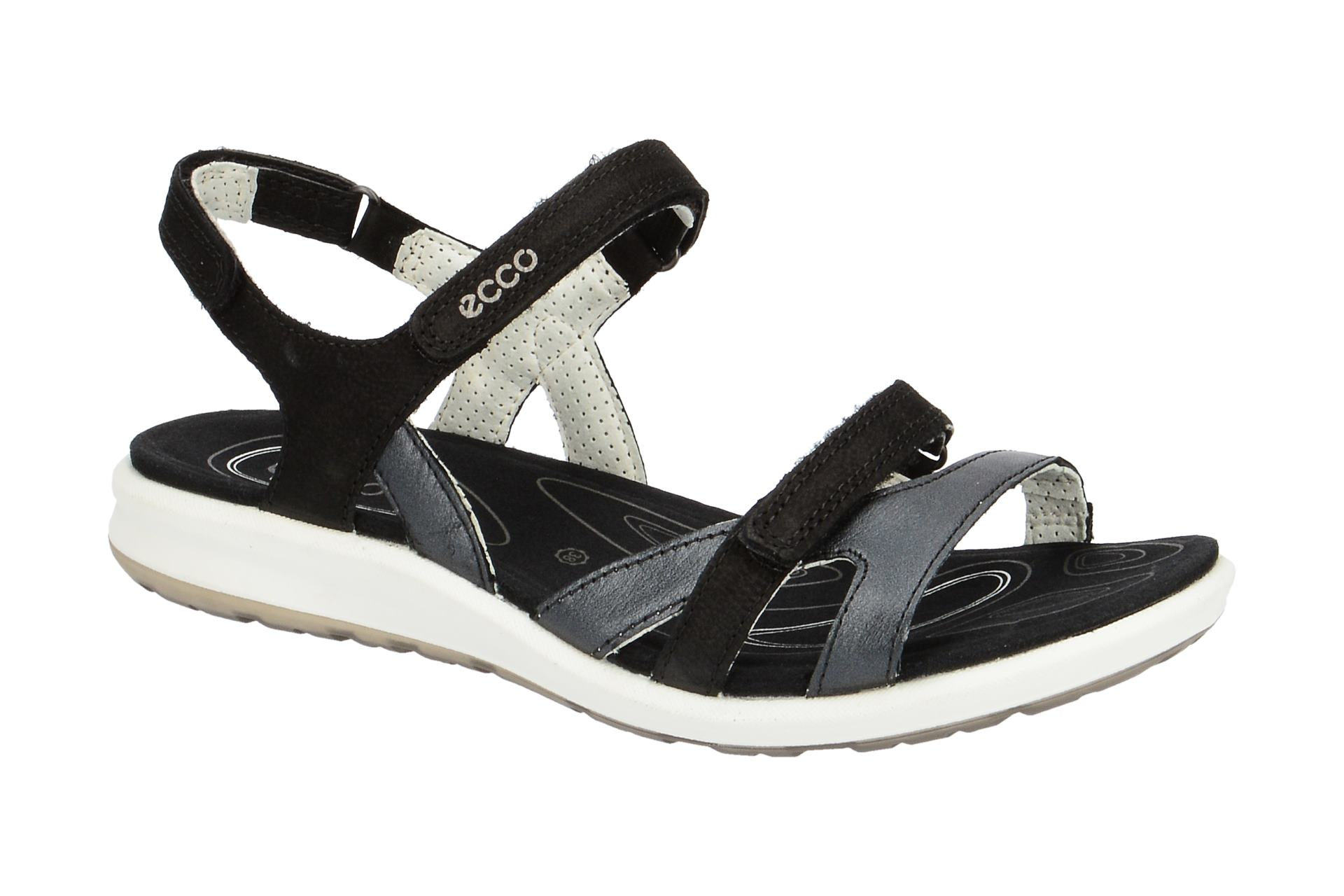 Sandalette Schuhe CRUISE II Ecco Riemchen Sandalen schwarz