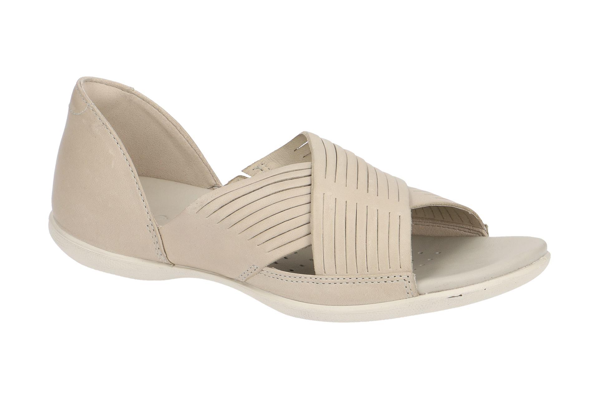 028a71f1b5e7bd Ecco Schuhe FLASH grau Damen Sandale Sandaletten 24390302163 NEU