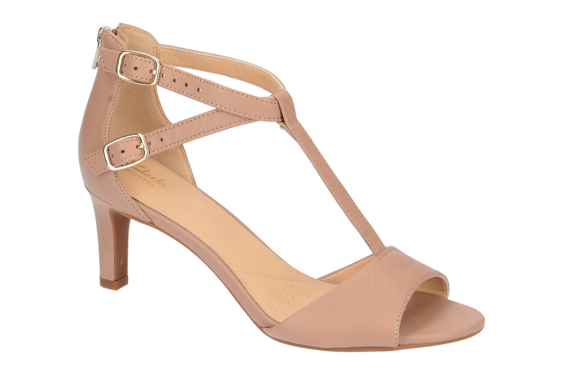 Clarks LAURETI PEARL Sandalette für Damen in rose - 26133787 4 (Gr. 35,5, 39, 39,5, 36)