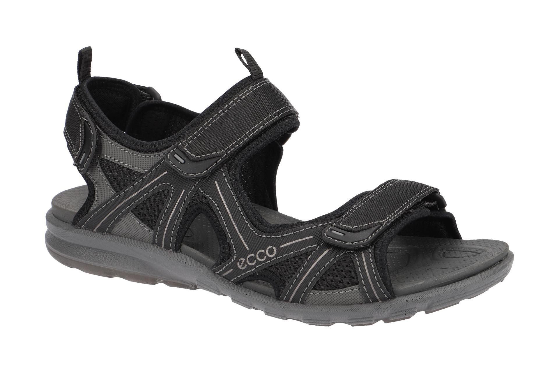 Details zu Ecco Schuhe CRUISE schwarz Herren Sandale Sandaletten 84171456340 NEU