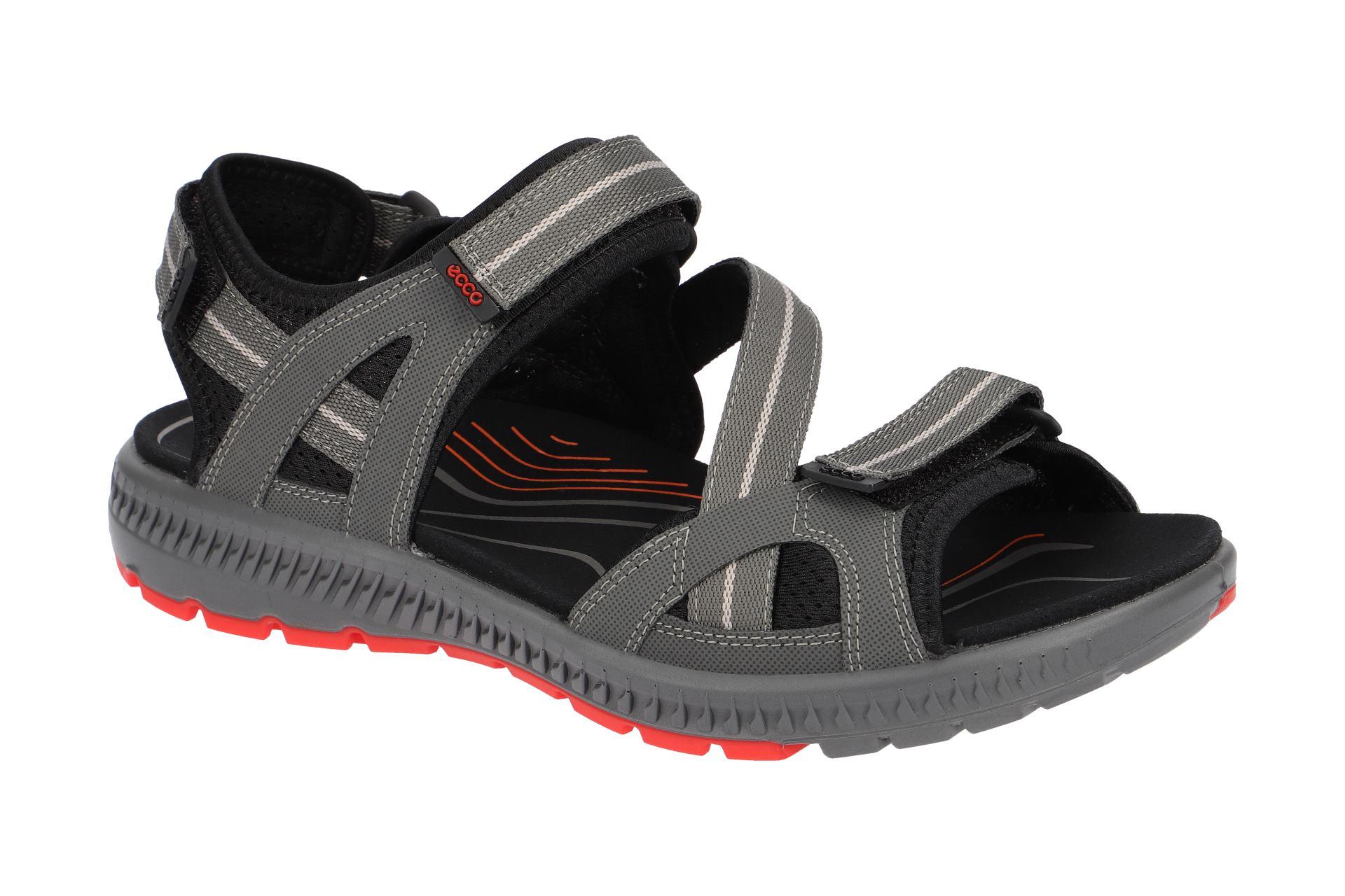 cf1ab75c46bf4e Ecco Schuhe TERRA SANDAL grau Herren Sandale Sandaletten 82271400602 ...