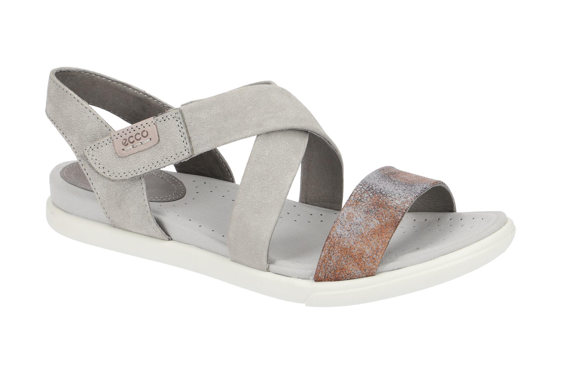 ebfc8418f8a371 Ecco Schuhe DAMARA SANDAL grau Damen Sandale Sandaletten 24827355915 ...