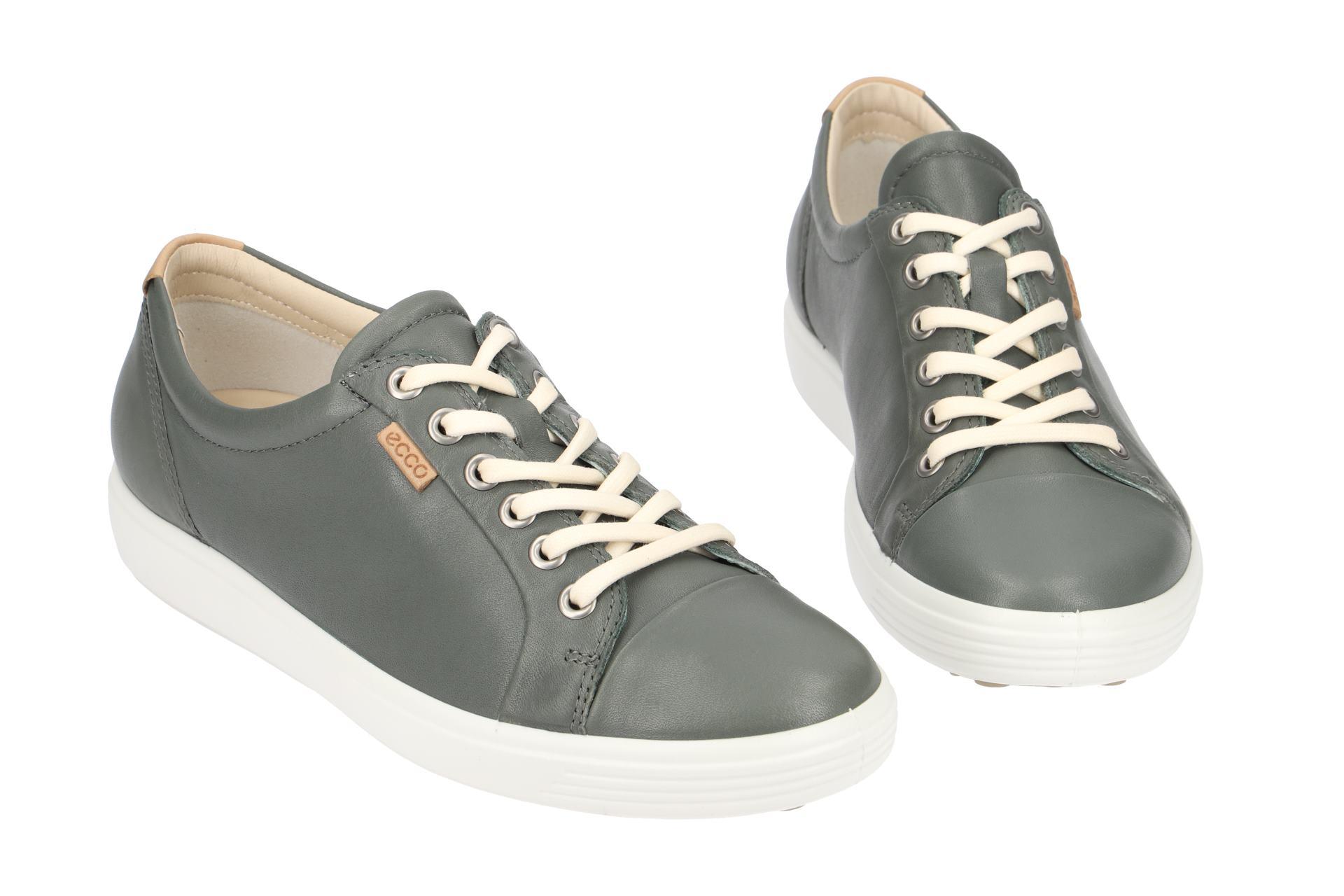 9da92f1b393f01 Ecco Schuhe SOFT 7 LADIES grau Damenschuhe 43000301232 NEU