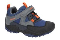 Geox Savage Kinderschuhe blau orange Wasserdicht