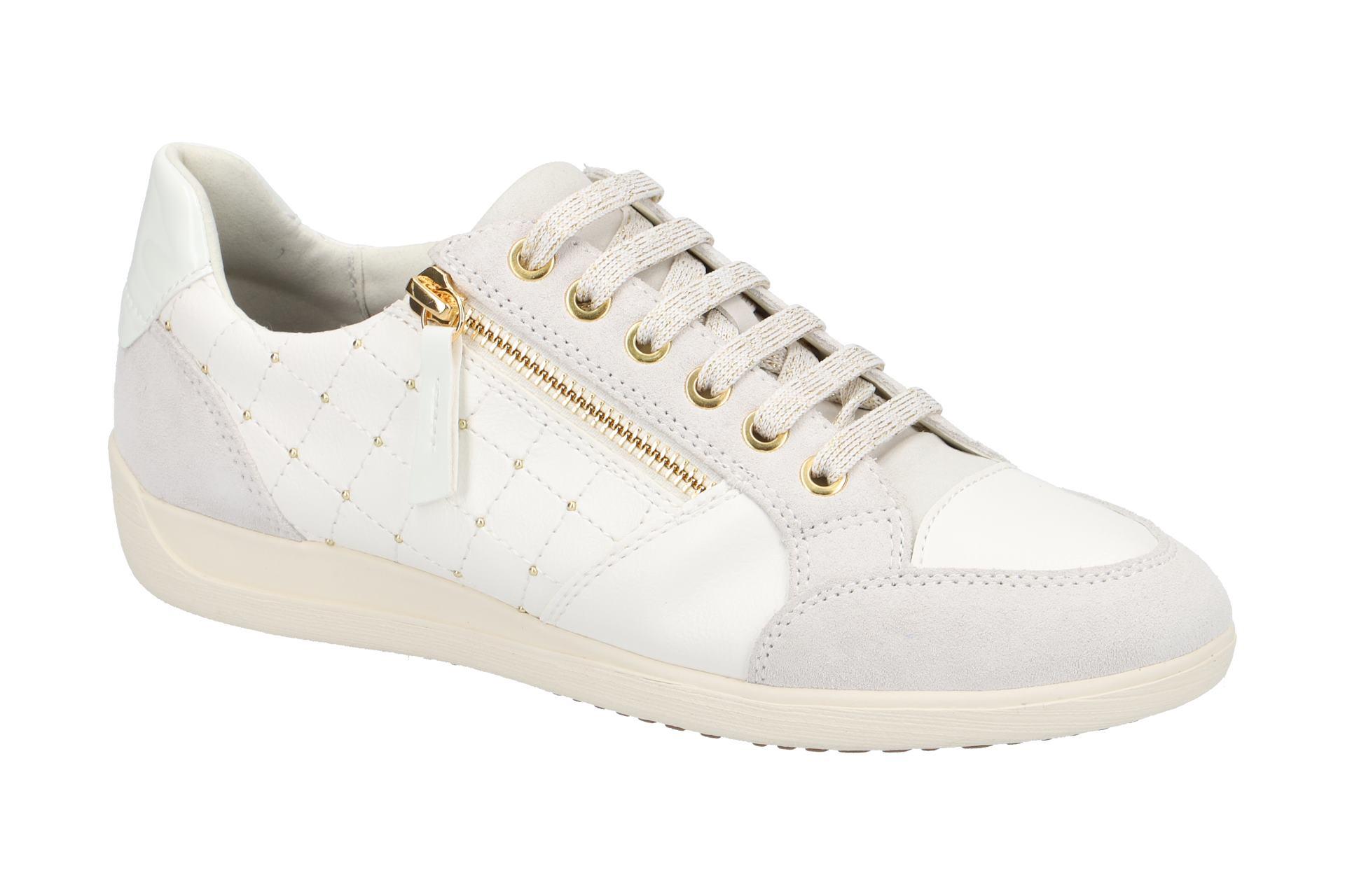 Geox Schuhe MYRIA weiß Damenschuhe D8468B 0BC22 C1209 NEU | eBay
