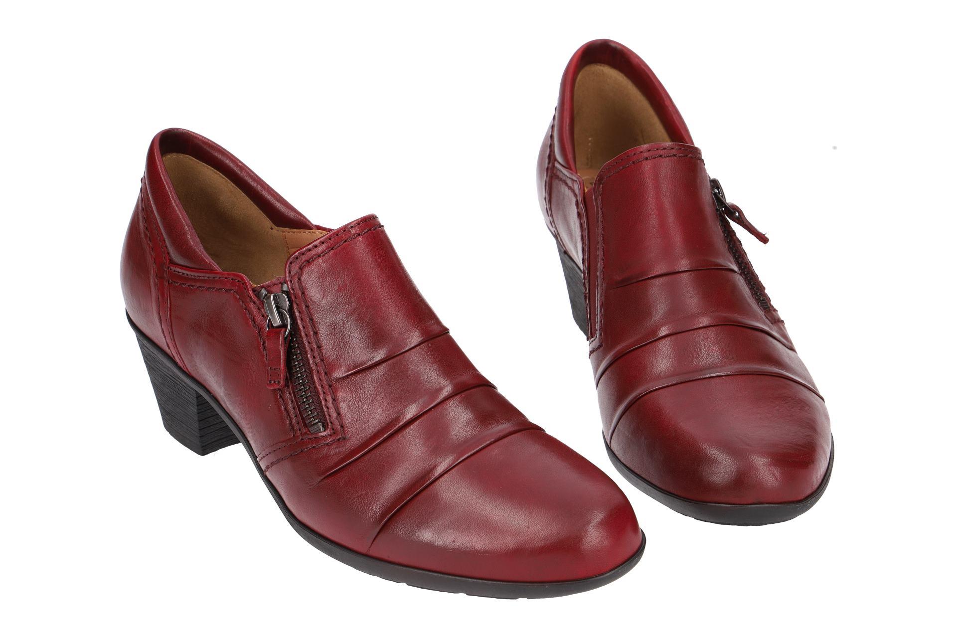 cefadd0cce29 Gabor Schuhe 94.491 rot Damenschuhe elegante Slipper 94.491.55 NEU ...
