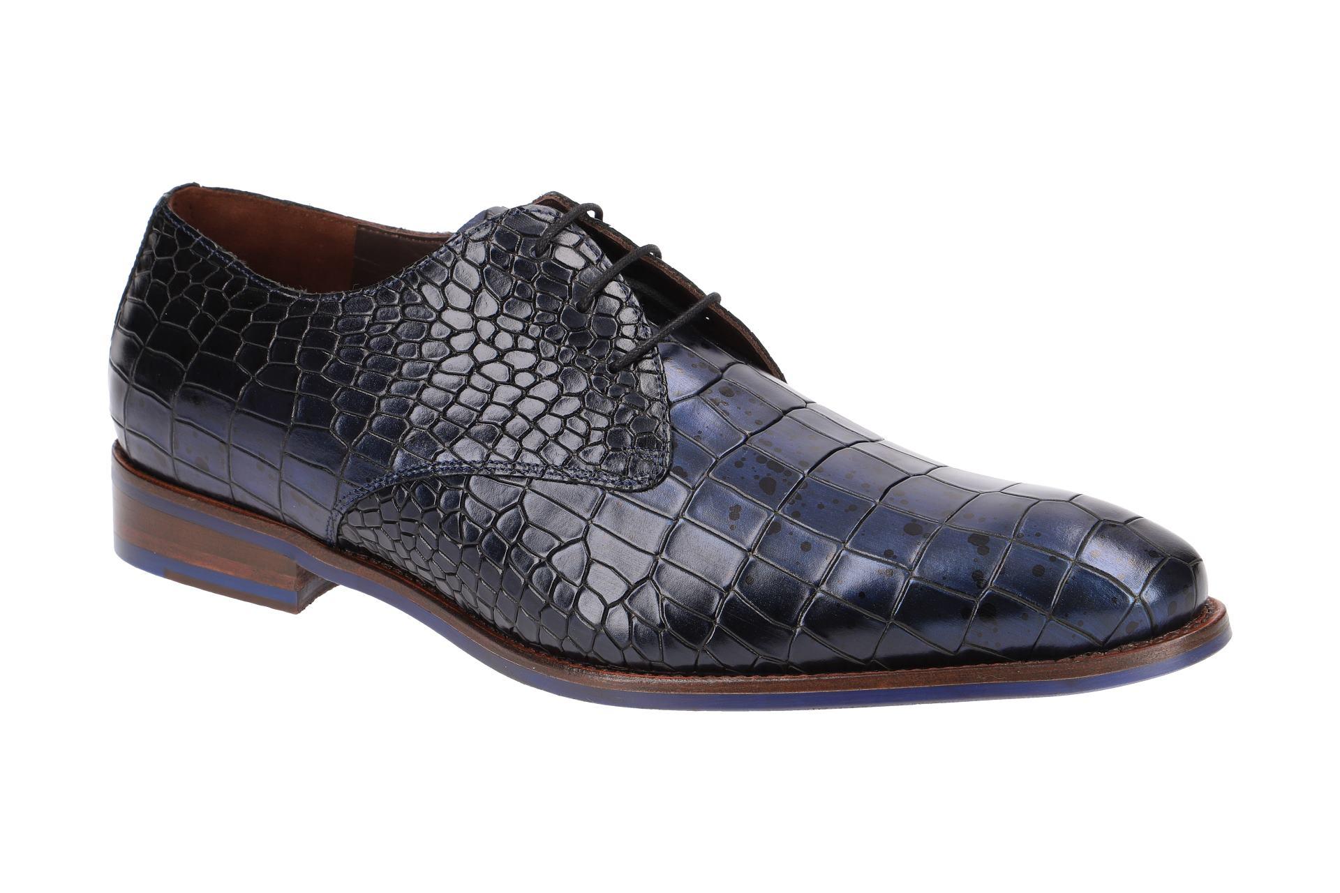 Floris van Pompon Chaussures 18067 gris Chaussures Hommes Élégant basses 1806702