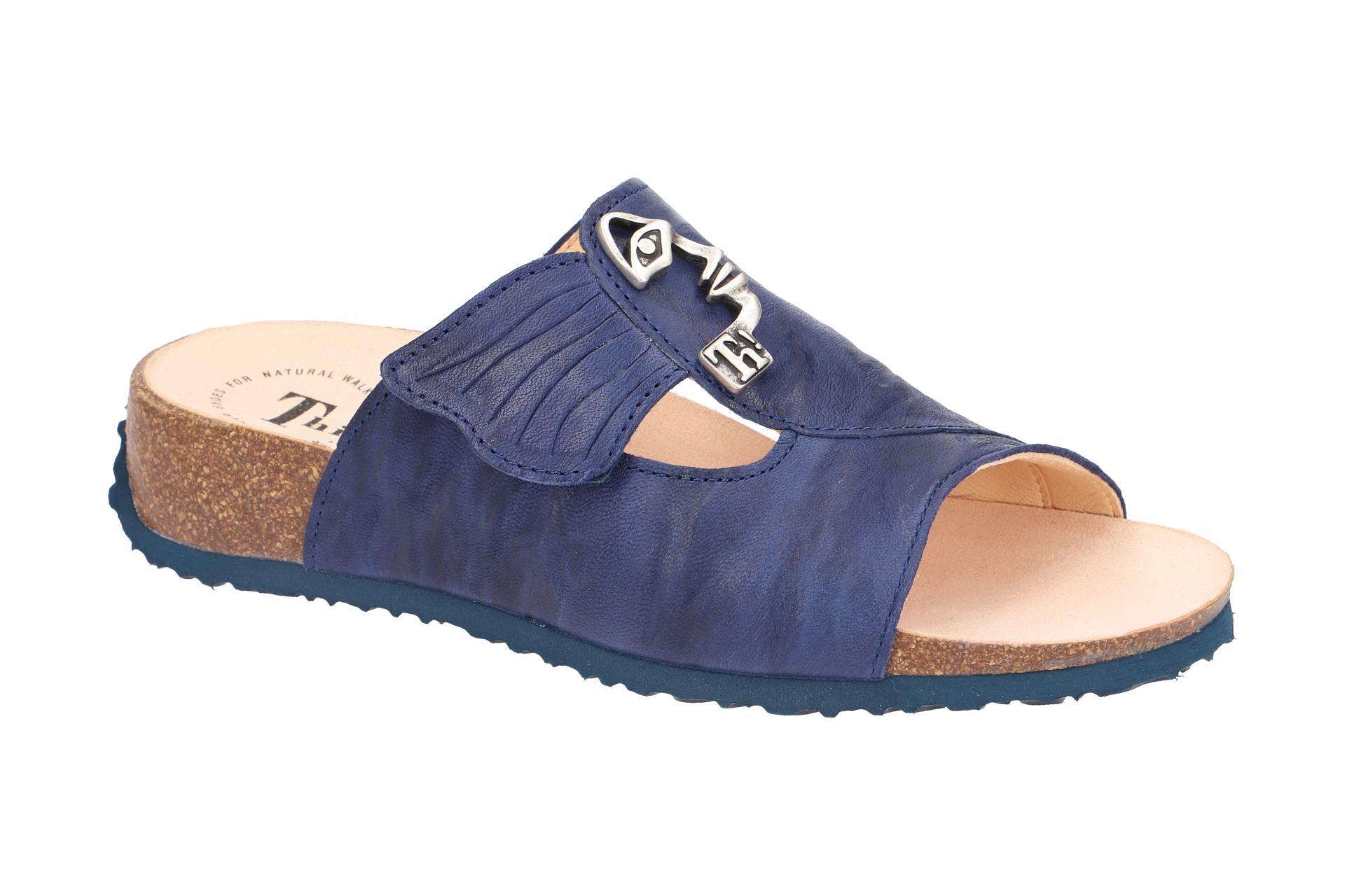 Gabor 03.705 Damenschuhe bequeme Pantoletten blau NEU