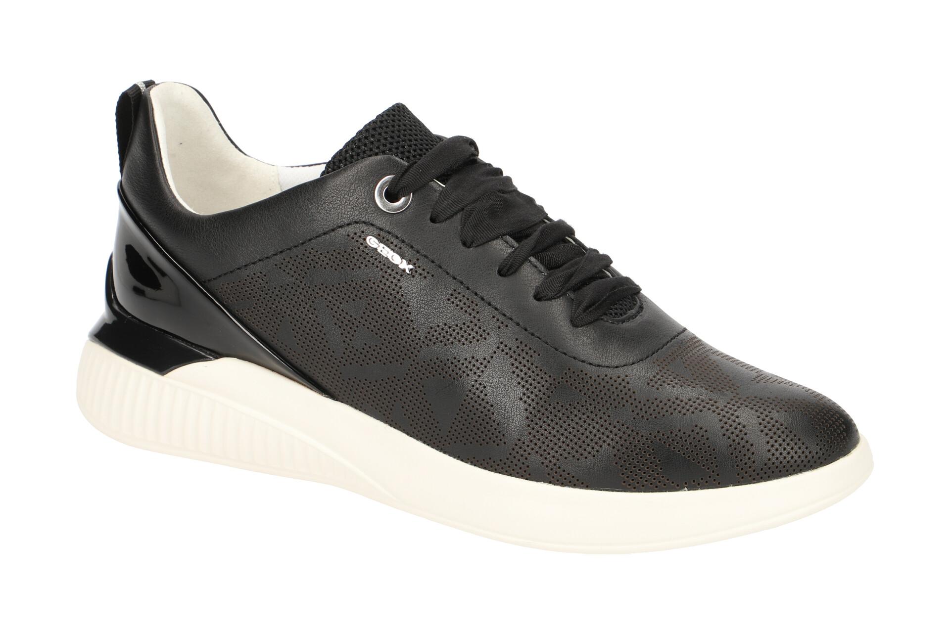 Geox Schuhe THERAGON schwarz Damenschuhe D828SC 00085 C9999 NEU
