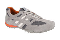 Geox Snake Schuhe hell-grau orange U4207K