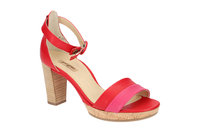 Paul Green Sandale pink rot 7494
