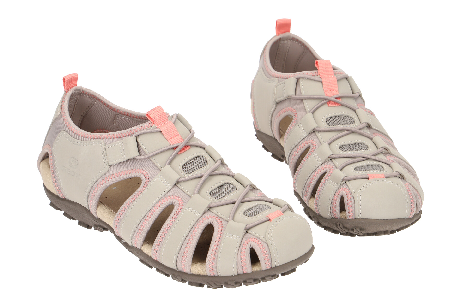 Geox Schuhe SAND.STREL schwarz Damen Sandale D9225A 0EK15