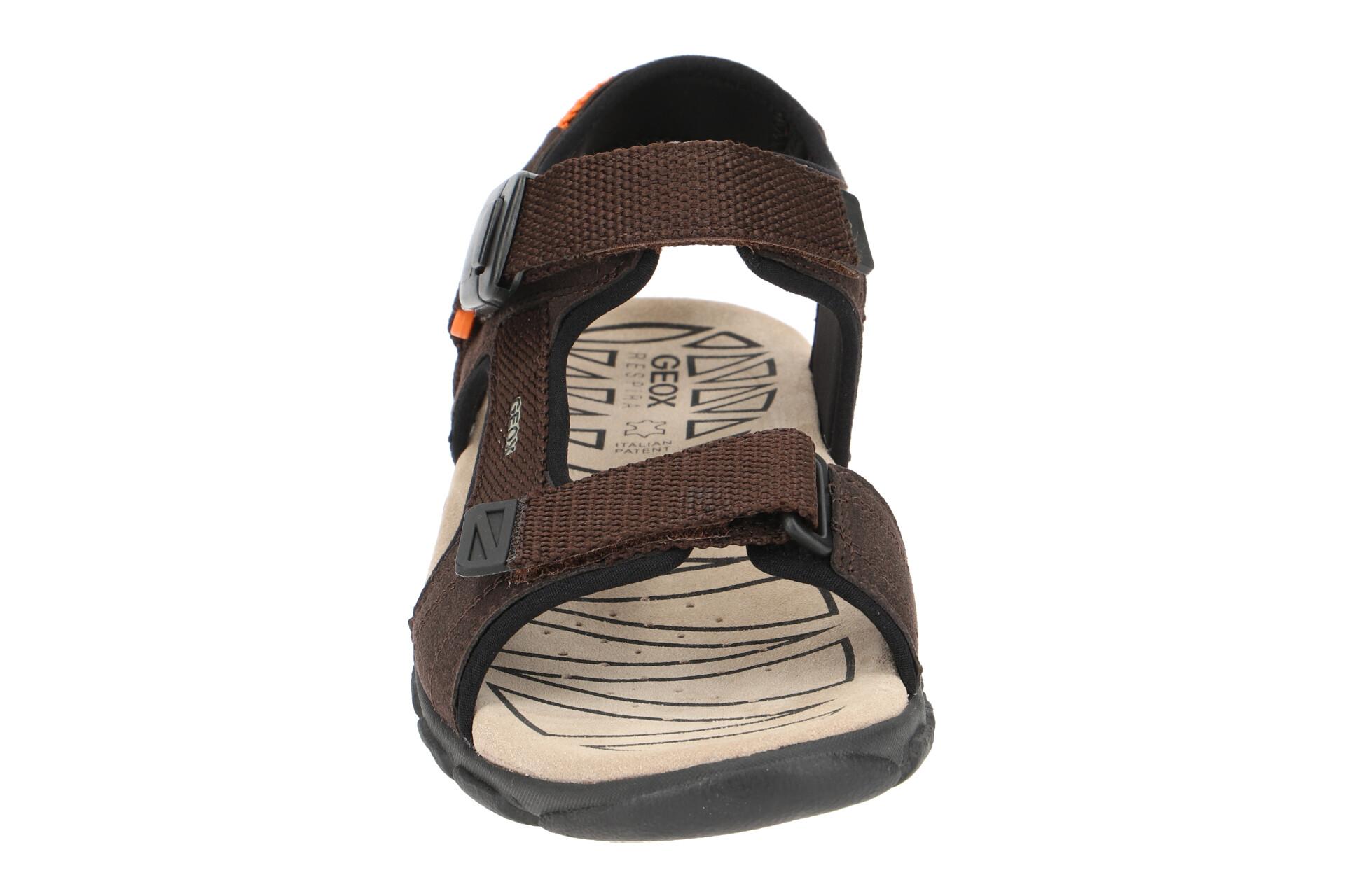 U9224b strada Geox Herren Sandale Details Neu C0607 Schuhe Braun Sandaletten Zu S 000af 1clTFKJ3u5