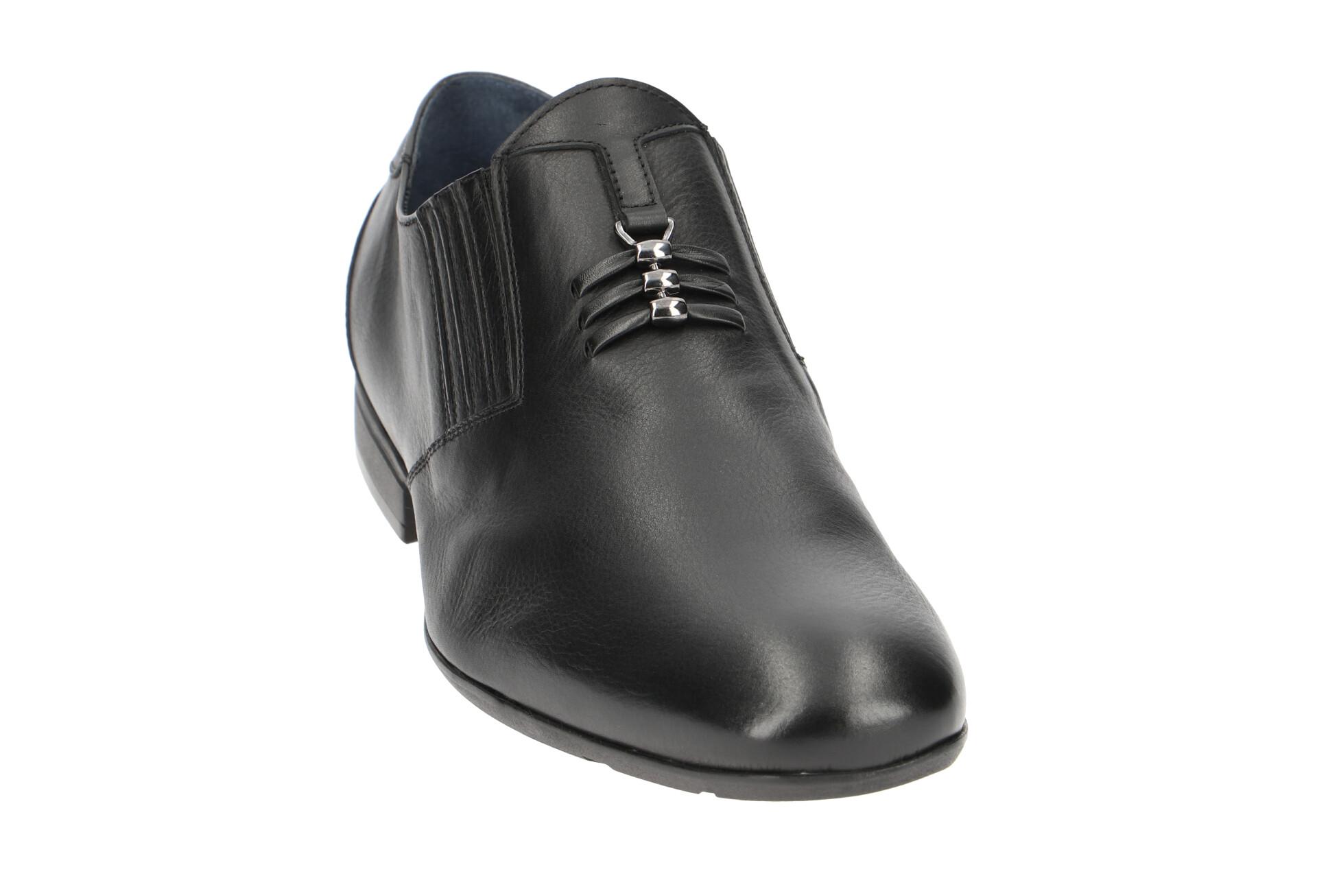 Schwarz Herrenschuhe Zu Details Neu Slipper Schuhe Nero Elegante Bl443 Bello TPkuXOiZ