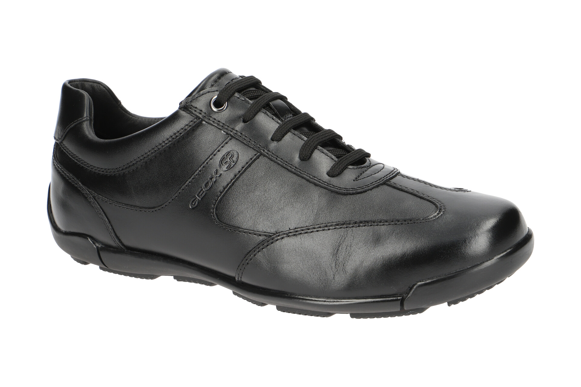 GEOX Chaussures Edgware Noir Chaussures Hommes paniers u843bc 043bc c9999 NEUF