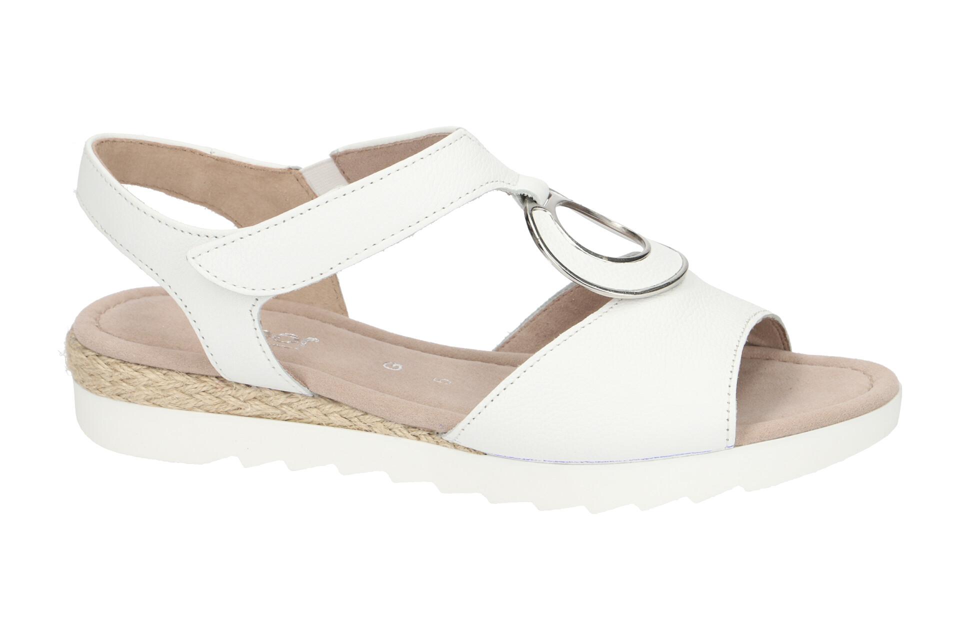 Gabor Schuhe RHODOS weiß Damen Sandale Sandaletten 22.745.50 NEU | eBay