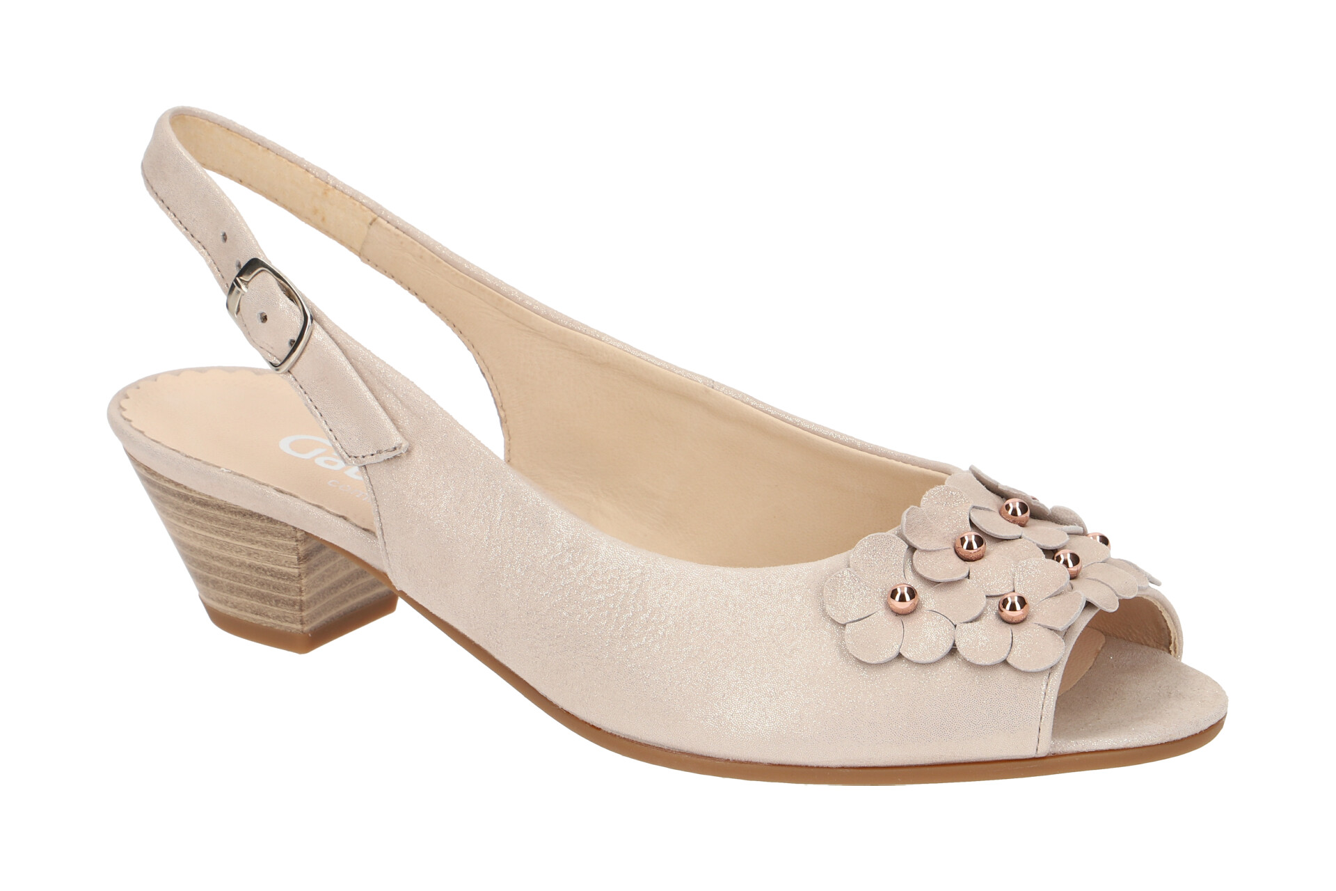 Neuer Store Werbepreis Damen Schuhe beige Gabor Pumps Leder