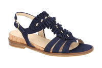 21ea15efe7df58 Ecco Babett Sandale blau 21401301086 - Schuhhaus Strauch Shop