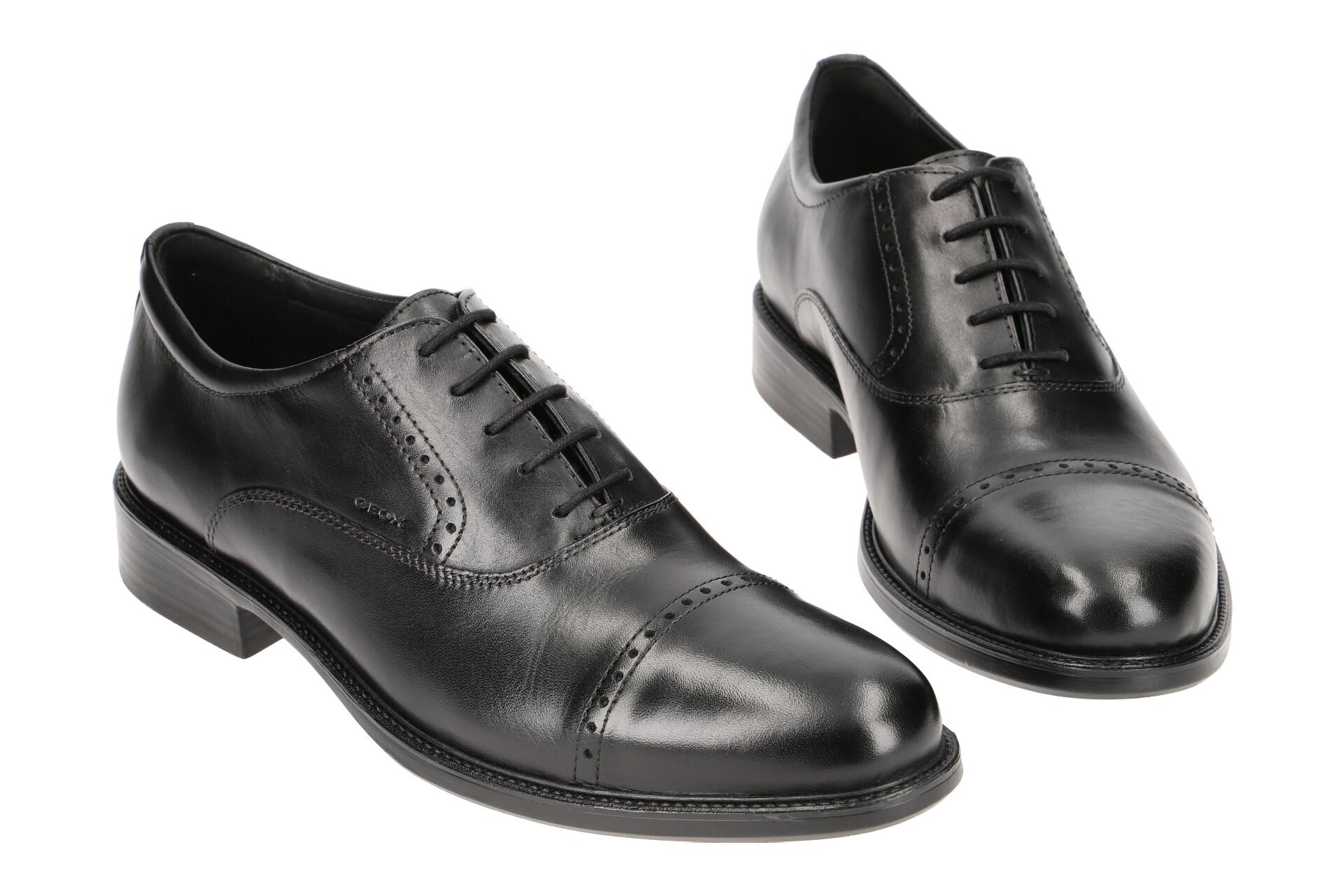 Schuhe 00043 Herrenschuhe Carnaby C9999 Elegante Halbschuhe Details Schwarz U92w1a Zu Geox 7ygvf6IYbm