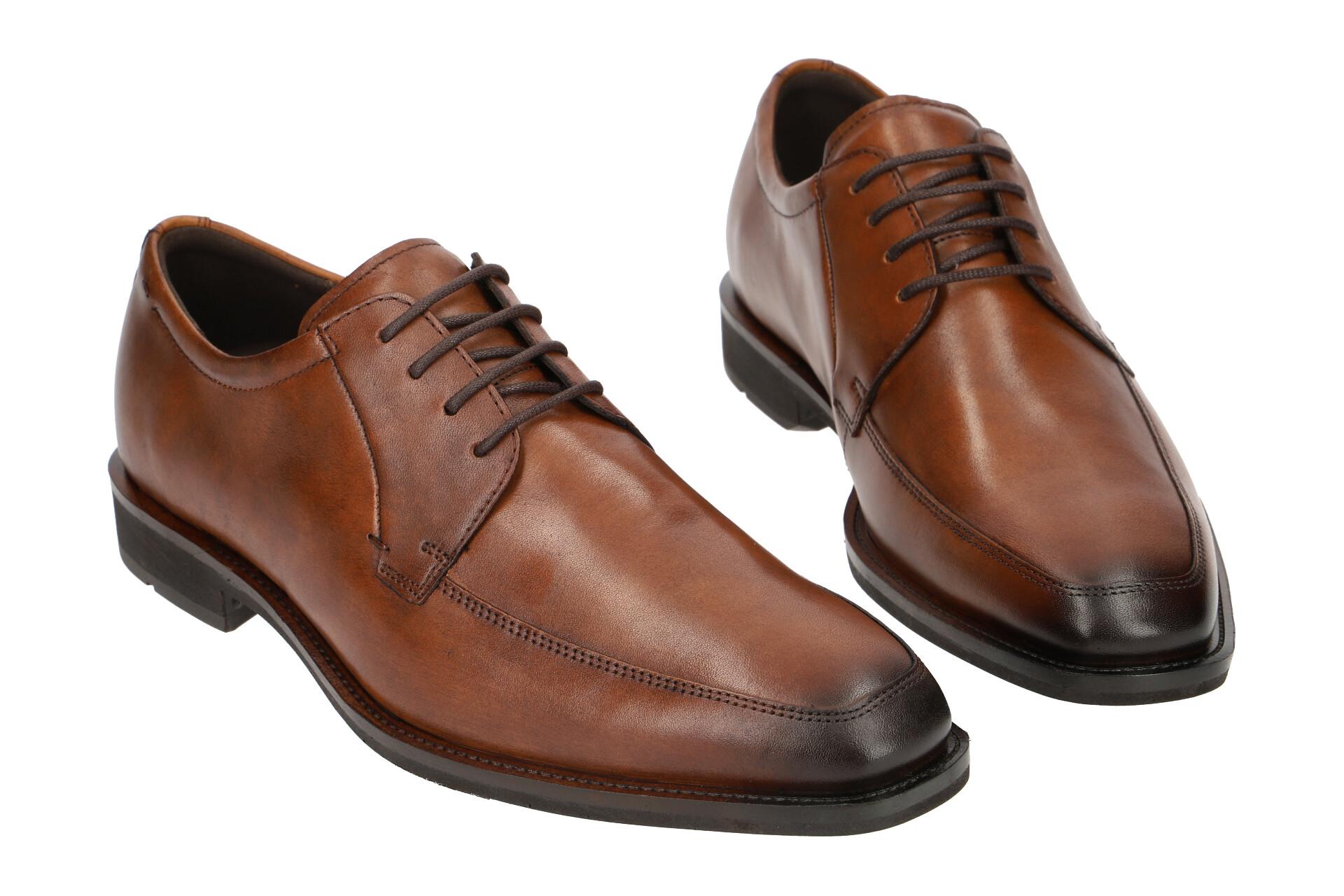 Herrenschuhe Zu Elegante Braun Ecco Neu Schuhe Halbschuhe Calcan 64071401112 Details OkuXiTPZ