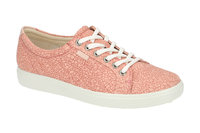 425b3cdf26a569 ecco Soft 7 Schuhe Sneaker rosa Laser NEU