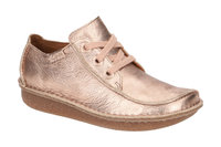 Clarks Funny Dream Schuhe rosa metallic