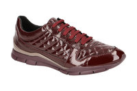 Geox Sukie Sneakers Schuhe rot bordo Lack