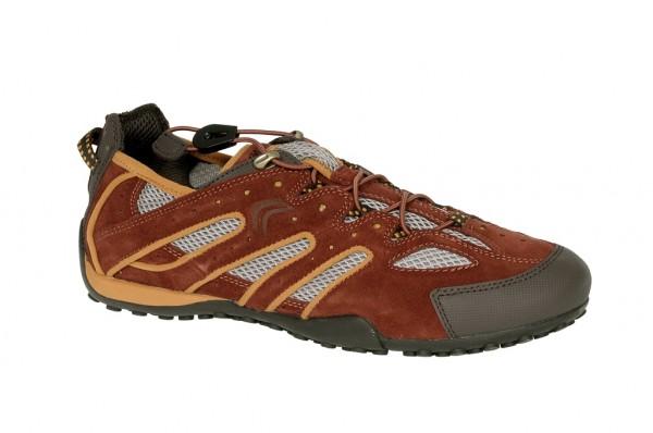 Geox Snake B Schuhe dunkelrot Sneakers U1107B