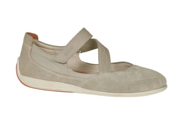 Ecco Glow Schuhe in moon rock hellgrau Slipper 24802355294