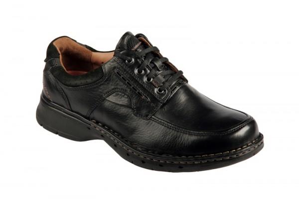 Clarks Un Bend Schuhe schwarz Herren