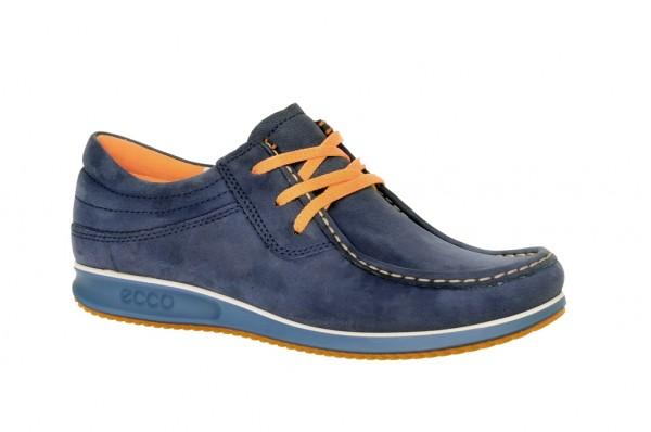 Ecco Mind Schuhe in blau Herren Mokassin 59000402139