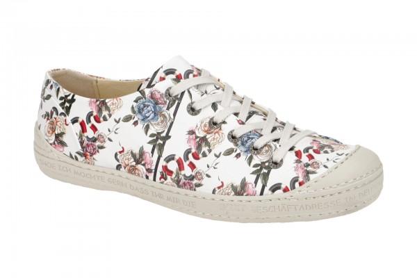 Eject Dass Schuhe weiß Blumen 11207