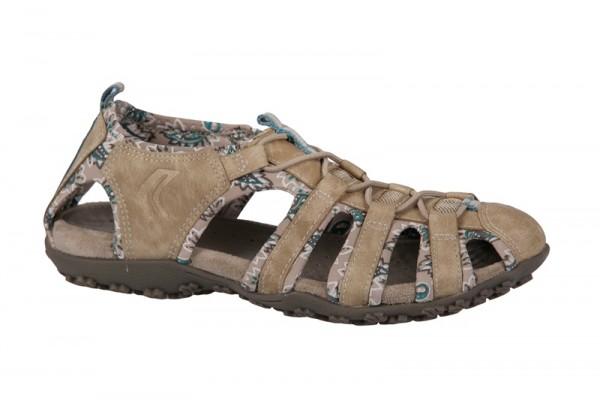 Geox Sand.Strel - Damen Sandale beige