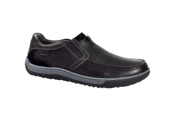 Clarks Schuhe Reeder Step in schwarz Slipper 20356947
