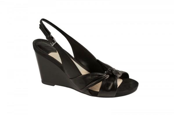 Geox D01N7B Nicole Schuhe schwarz Sandalette
