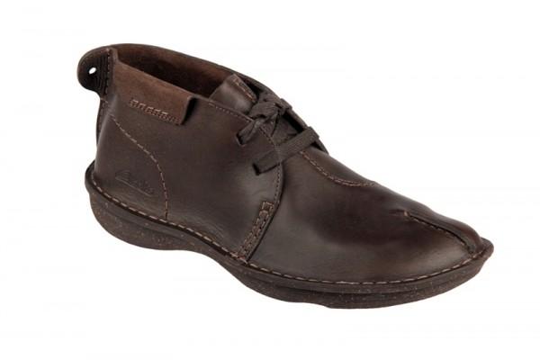 Clarks Mount Liberty Schuhe dunkelbraun Boots